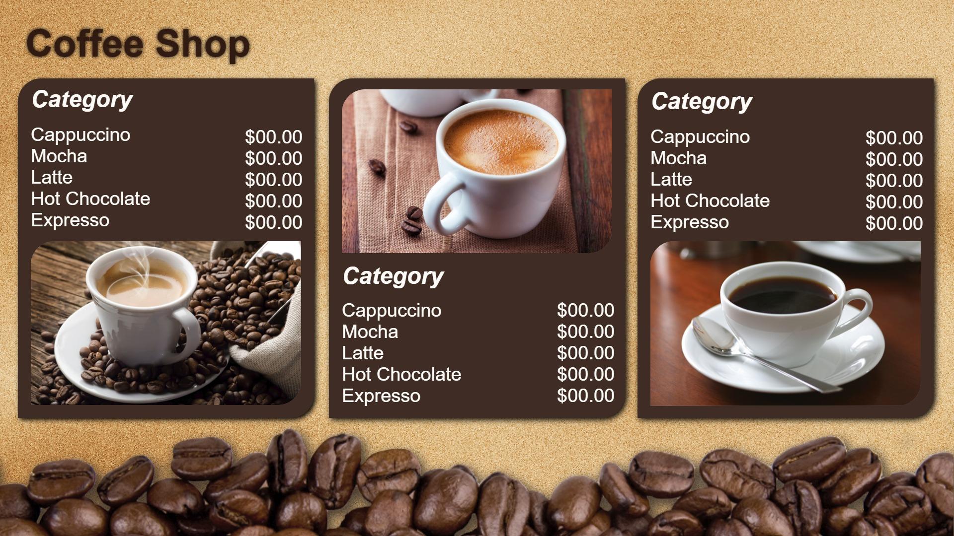 никто кофейное меню картинки огуречника можно сделать