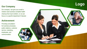 Plenary Corporate Sign (Green)