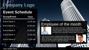 Amicable Corporate Sign