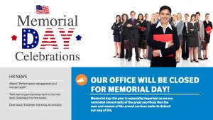 Polite Memorial Day Sign