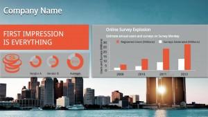 Customary Corp Sign (Orange)