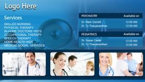 Fervent Healthcare Sign (Aqua)
