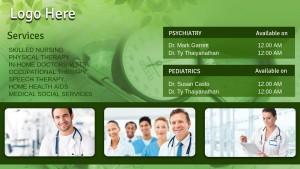 Fervent Healthcare Sign (Jade)