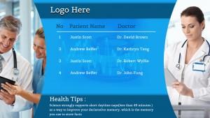 Vivid Healthcare Sign (Aqua)