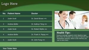 Indigo Healthcare Sign (Green)