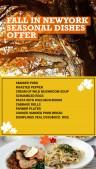 Natty Fall Menu (Yellow)