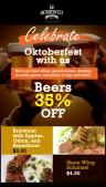 Snazzy Oktoberfest Menu