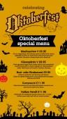 Gala Oktoberfest Menu (Yellow)