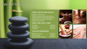 Indulgent Spa Sign (Green)