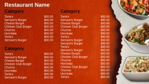 Scabrous Asian Menu (Red)