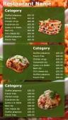 Seduous Fastfood Menu (Green)