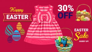 Exertive Easter Retail Sign
