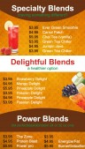 Elemental Juice Menu (Orange)
