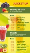 Sleek Juice Menu (Green)