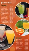 Plenary Juice Menu (Orange)