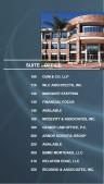 Eminent Directory Sign (Aqua)