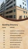 Catenary Directory Sign (Tan)
