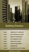 Regal Directory Sign (Sepia)