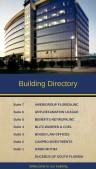 Regal Directory Sign (Beige)