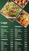 Deviant Fastfood Menu (Green)