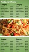 Robust Fastfood Menu (Green)