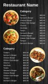Affable Asian Menu (Dark)