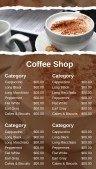 Robust Coffee Menu (Brown)