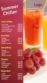 Dapper Juice Menu (Wine)