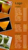Kosher Juice Menu (Orange)