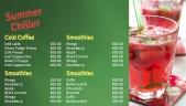 Dapper Juice Menu (Green)
