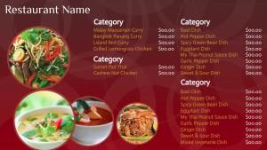 Crimson Thai Menu