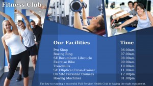 Patchy Gym Sign (Blue)