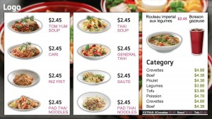 Kosher Thai Menu (White)