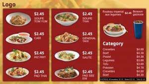Kosher Thai Menu (Red)