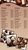 Prolific Chocolate Menu (Tan)