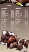Prolific Chocolate Menu (Grey)