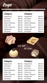 Grand Chocolate Menu (White)