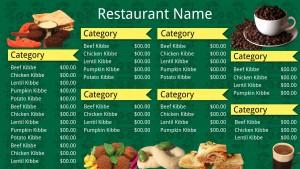Jade Fastfood Menu